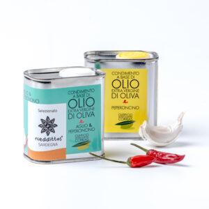 Olio aromatizzato peperoncino aglio
