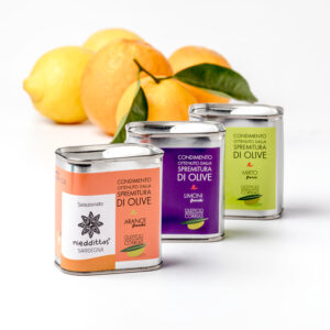 Olio aromatizzato limone arancia mirto