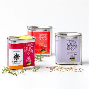 Olio aromatizzato timo finocchietto rosmarino